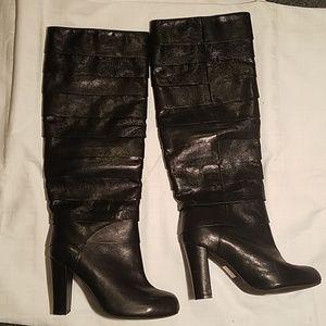 Jeffrey Campbell Ibiza boots leather